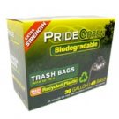 39-Gallon PrideGreen™ Biodegradable Trash Bags with Ties