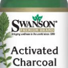 Swanson Premium Activated Charcoal 260 mg 120 capsules