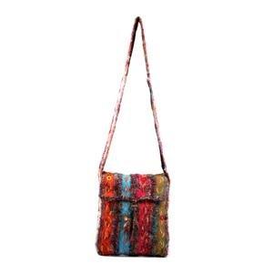 Recycled Silk Ladies Shoulder Bag
