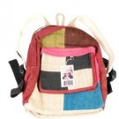 Hemp Color Patch Backpack