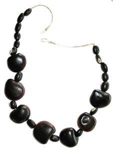 Tegua Jewelry - Black Large Round