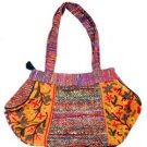 Cash & Silk Round Ladies Bag