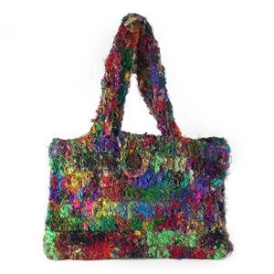Recycled Silk Handbag