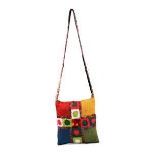 Hemp & Wool Solo Shoulder Bag