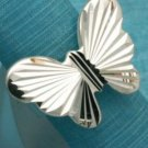 Sterling Silver Butterfly Modern Ring .925 Taxco Mexico