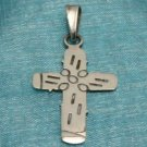 Sterling Silver Small Cross Pendant .925 Taxco, Mexico
