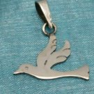 Sterling Silver Small Dove Pendant .925 Taxco Mexico