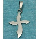 Sterling Silver Small Cross Pendant .925 Taxco Mexico