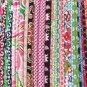 Designer FQ Bundle 10 Fat Quarters Cotton Quilt Fabric