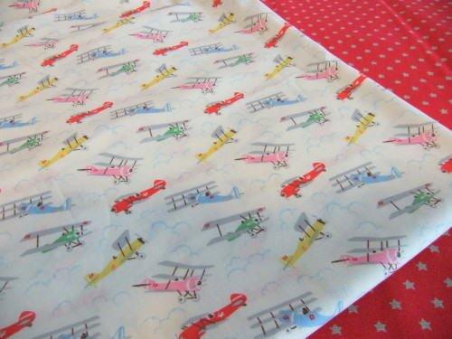 Planes On White FQ ~ Cath Kidston Haberdashery Cotton Fabric