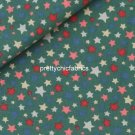 Shooting Star Green 1 M ~ Cath Kidston Cotton Duck Fabric