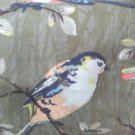 Brown Garden Bird 1 M ~ Cath Kidston Cotton Duck Fabric