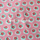 Lattice Rose 1 M ~ Cath Kidston Cotton Duck Fabric