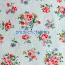 Kew Sprig Stone 1 M ~ Cath Kidston Cotton Duck Fabric