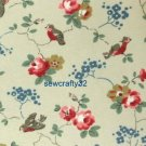 Bird Stone 1 M ~ Cath Kidston Cotton Duck Fabric