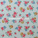 Freston Rose White 1 M ~ Cath Kidston Cotton Duck Fabric