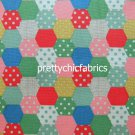 Patchwork Dots 1 M ~ Cath Kidston Cotton Duck Fabric