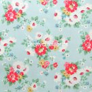2015 Clifton Rose Blue Cotton Duck 1 M ~ Cath Kidston