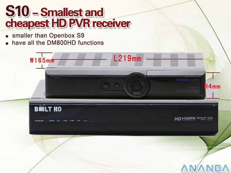 Openbox S10 PVR HD Receiver