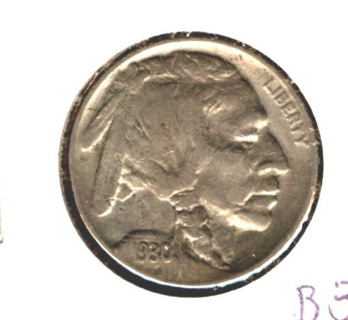 1930 (XF) BUFFALO NICKEL (M02) FULL HORN