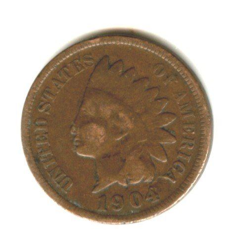 1904 (VG+) INDIAN HEAD PENNY (EB1531)