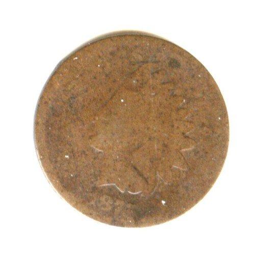 1875 (AG) INDIAN HEAD PENNY (C9)