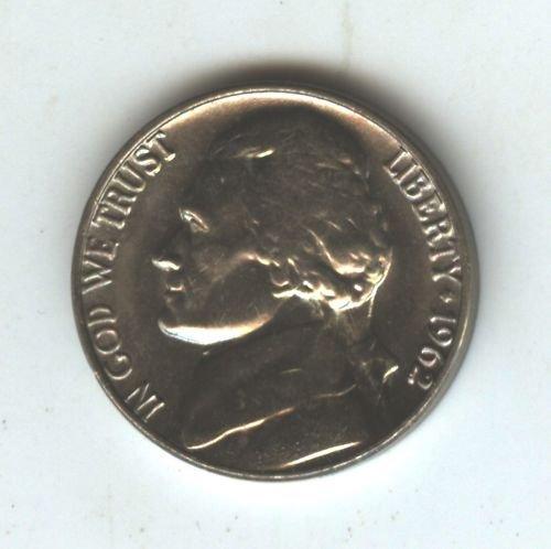 1962P  Choice BU Jefferson Nickel (EB1529)
