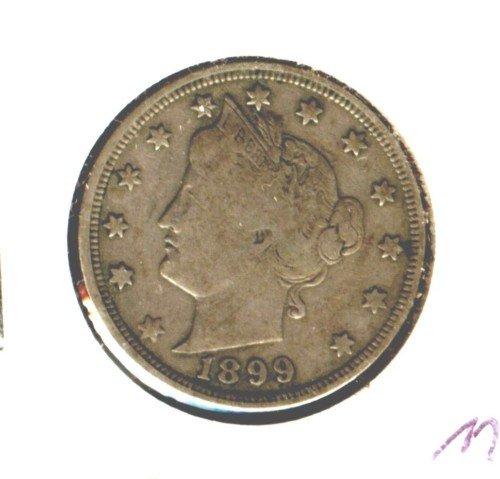 1899 (VF) LIBERTY NICKEL (M06)