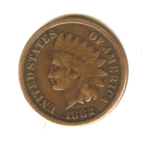 1882 (VG) INDIAN HEAD PENNY (EB1505)