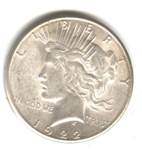 1922 (BU+) PEACE DOLLAR (M07) SILVER