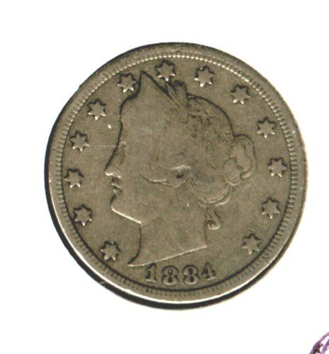 1884 (VG) LIBERTY NICKEL (M08)