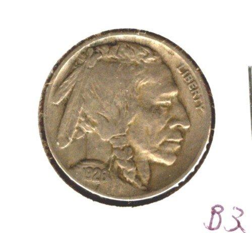 1926 (VF+) BUFFALO NICKEL (B33)