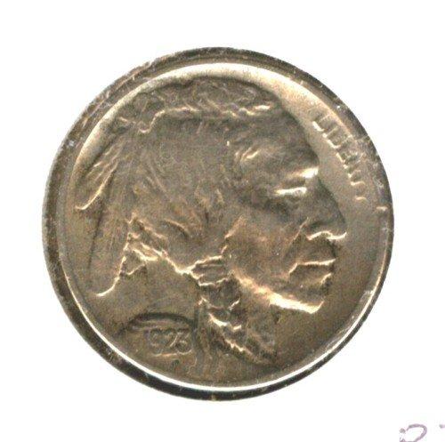1923S (VF+) BUFFALO NICKEL (B34) 7/8 HORN