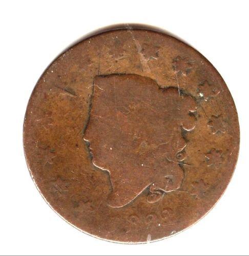 1822 (G) LARGE CENT (M11)