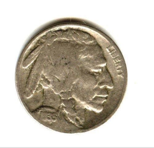 1935 (VG) BUFFALO NICKEL (EB1344)