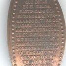 ELONGATED PENNY TOKEN(LORD'S PRAYER SPANSISH VER)EB1370