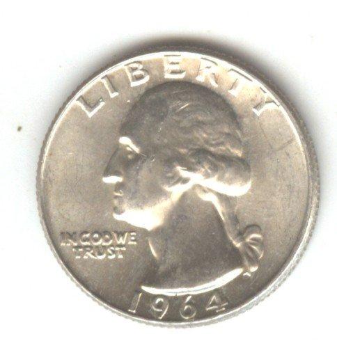 1964D (BU) WASHINGTON QUARTER (W113) SILVER