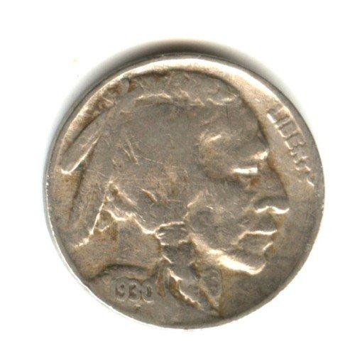 1930 (VG) BUFFALO NICKEL (W1)