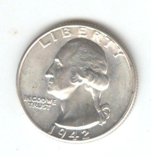 1942 (BU) WASHINGTON QUARTER (W96) SILVER