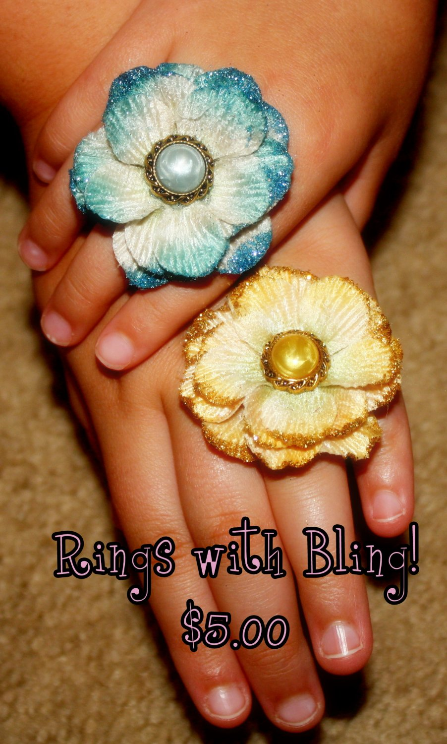 Rings with Bling