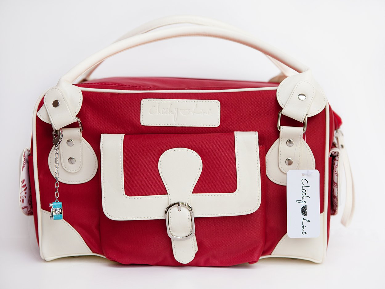 Cheeky Lime Classic Bag - red