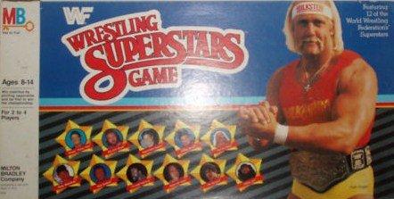 Vintage WWf Wrestling Board Game