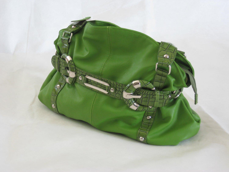 Handbag7402A - Green