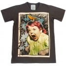 T-shirt  SP01 L Scream Bird Cry Rock Punk Retro Vintage Extream