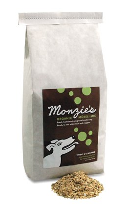 Monzie Organic Muesli Dog Food Mix   8lbs.