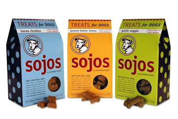 Sojos Dog Treats Garlic Veggies