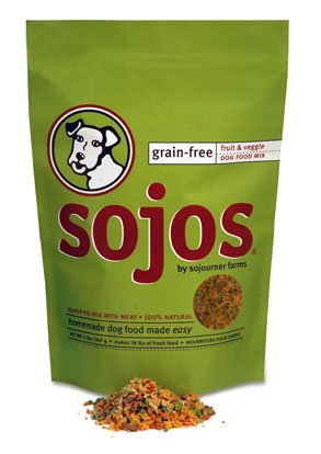 Sojos Europa Grain Free Dog Food Mix   8lbs.