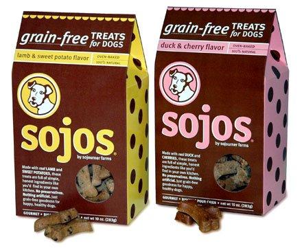 Sojos Grain Free Treats Duck & Cherry
