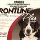 Frontline Plus Dog     6 pk.      89 - 132 lbs.