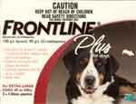 Frontline Plus Dog     3 pk.      89 - 132 lbs.